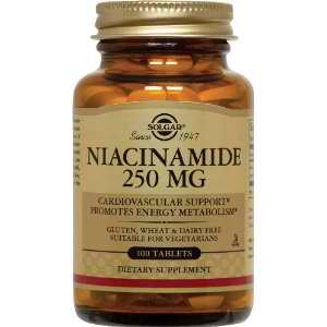 Buy Niacinamide 250 MG - Solgar - Niacinamide Supplements